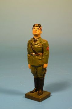 Orig. Lineol (Elastolin) - Italien - Duce Benito Mussolini – 7cm Serie