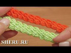 Мастер класс по вязанию шнур гусенички Урок 102 Romanian Lace Cord