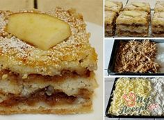 Scattered cup cake with apples Scattered cup cake with apples Easy Cake Recipes, Desert Recipes, Bakery, Deserts, Brunch, Food And Drink, Sweets, Bread, Apple