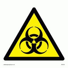 bio hazard warning symbol only - kinda cool for a boys room