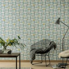 A retro inspired geometric design in bold colours from Arthouse's Retro Haus Wallpaper Collection. Go Wallpaper UK stock a wide range of Arthouse Wallpaper designs