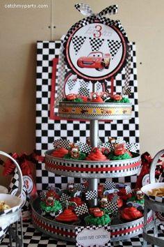 Cars Birthday Party Ideas Unique where Your Idea Of Birthday Celebration Es Disney Disney Cars Party, Disney Cars Birthday, Race Car Birthday, 3rd Birthday, Cars Themed Birthday, Birthday Ideas, Birthday Stuff, Happy Birthday, Car Themed Parties