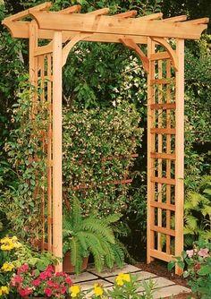 Картинки по запросу арка для роз из дерева