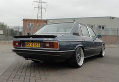 BMW e12 rear quarter view