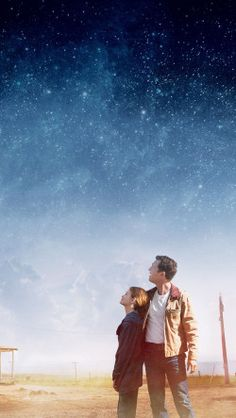 We used to look up at the sky and wonder at our place in the stars, now we just look down and worry about our place in the dirt. -Cooper, Interstellar