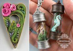 Christi Friesen clay jewelry