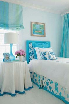 Blue Bedrooms For Girls dream bedrooms for teenage girls blue | bedroom | pinterest | blue