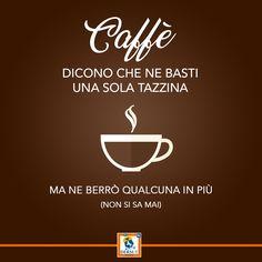 Una citazione per una pausa caffè divertente! Quanti espressi bevete al giorno?
