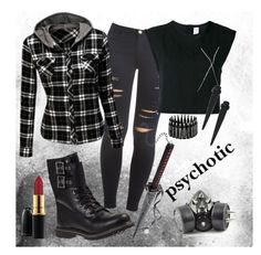 """Hunt"" by xxonyx-lightwaterxx ❤ liked on Polyvore featuring Frame, Doublju, Timberland, MAC Cosmetics, Filles à papa and GAS Jeans"