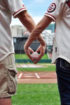 Engagement Session at Busch Stadium love Busch Stadium St. Louis Cardinal Baseball Gateway Arch on the field in the dugout Baseball Engagement Photos, Baseball Couples, Engagement Pictures, Engagement Shoots, Wedding Pictures, Wedding Engagement, Wedding Ideas, Baseball Proposal, Baseball Girlfriend