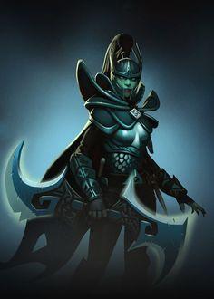 Phantom Assassin from Dota 2