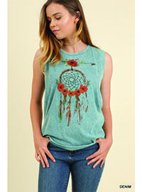 Dreamcatcher Tank Top Available for order #dreamcatcher #dream #catcher #tank #top #tanktop #crisscrossback
