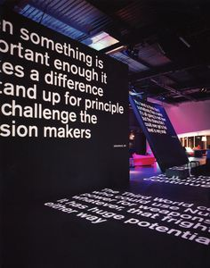 Casson Mann together with Nick Bell Design for the Science Museum