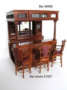 Miniature bar.