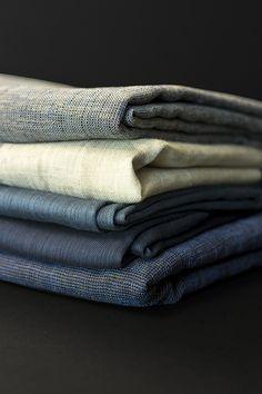 Rhapsody in blue. Fabrics: cachet by Holland Haag Curtain Fabric, Curtains, Rhapsody In Blue, Holland, Fabrics, Interior, Design, The Nederlands, Tejidos