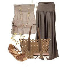 LOLO Moda: LOLO MODA fashionable women skirts - Summer - Spring - 2014- Love the skirt  top