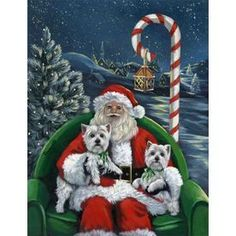 Precious Pet Paintings�40-in x 28-in Dogs Flag