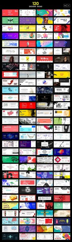 120 in 1 Web Banner Bundle on Behance