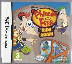 Nintendo Ds Disney Phineas and Ferb: Ride Again (plays 3ds in 2D)