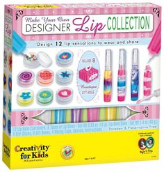 9 year old toys for girls | fun lip balm making kit for girls