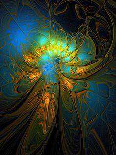 Title: A Midsummer Night Artist: Amanda Moore Medium: digital Art- Fractal Art