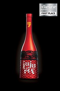 A Series of wines inspired by the Seven Deadly Sins. The design of the bottles reflect each one of the sins visually. Fall into temptation.