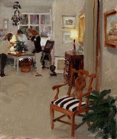 Artwork of Oil Painter Kim English