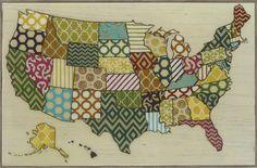 United Patterns Framed Graphic Art