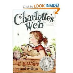 Encore -- Charlotte's web / E.B. pictures by Garth Williams ; watercolors of Garth Williams artwork by Rosemary Wells. Up Book, This Is A Book, I Love Books, Great Books, Books To Read, Charlotte's Web Book, Book Art, Garth Williams, A Wrinkle In Time