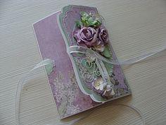 Pretty Cards, Cute Cards, Diy Cards, Handmade Envelopes, Card Envelopes, Wedding Anniversary Cards, Wedding Cards, Card Making Inspiration, Making Ideas