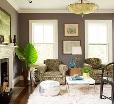 Shades of Gray Paint | Interior design: shades of gray