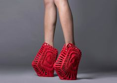 United Nude – Les chaussures imprimées en 3D par Zaha Hadid et Ben van Berkel                                                                                                                                                                                 Plus