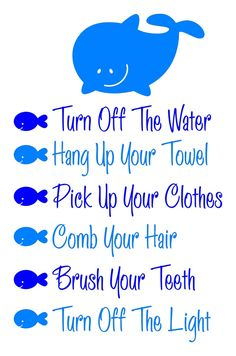 Image result for home  bathroom rules