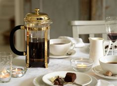 Bodum Chambord French Coffee Press in Gold