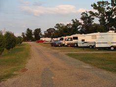 Cajun Cowboy RV Park At Omaha Texas United States