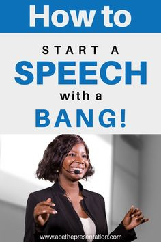 Are you worried about how to open your speech? Starting a speech on a high note and wowing the audience right away can be tricky. Check out these awesome tips on how to start a speech with a bang and impress your audience. They're sure to remember you long after your speech if you follow them.  #startaspeech #speechopening #publicspeakingtips #publicspeaking