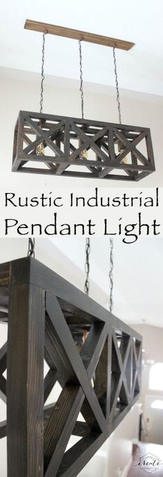 Industrial Farmhouse-Style Pendant Lighting