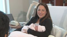 Falls Church, Va. (WUSA) -- It's a brave new world for baby Callan Grace Harvey. But already the infant is a medical pioneer. She's one of the newborns at Inova Women's Hospital in Fairfax to be offered MediMap. It's an exciting advancement in pharmacogenomics says Dr. Ben Solomon. He is a geneticist at the Inova Translational Medicine Institute.