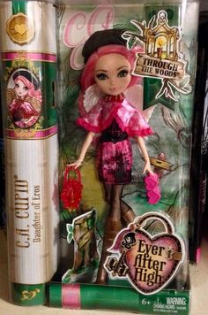 Ever After High Through The Woods Cupid New Doll | eBay