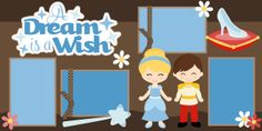 PPbN Designs - A Dream is a Wish 2 Page Scrapbook Kit, $1.99 (http://www.ppbndesigns.com/a-dream-is-a-wish-2-page-scrapbook-kit/)