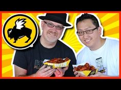 Blazin' Wing Challenge at Buffalo Wild Wings with JP from Hellthy Junk Food - YouTube