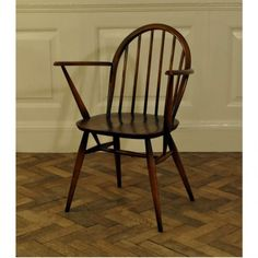A stained elm Ercol chair