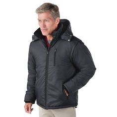 The 13 Hour Heated Jacket - Hammacher Schlemmer