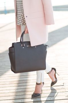 white, black and pink