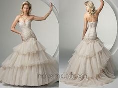 Famous design gorgeous ball gown wedding dress haute couture wedding dress , MPW-115(China (Mainland))