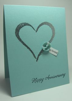 stamping up north anniversary card