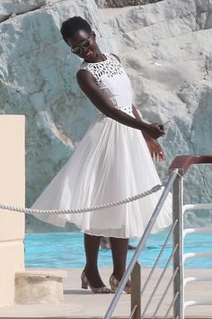 Lupita Nyong'o is all about having her own Cinderella moments at this year's Cannes Film Festival — and we love it! After owning the red carpet in a Cannes Film Festival 2015, Cannes 2015, Toni Garrn, Celebrity Photos, Celebrity Style, Afro, Egyptian Actress, Star Wars, Thing 1