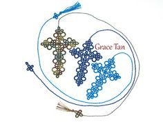 Grace Tats: My patterns - Jane's Bookmark Cross