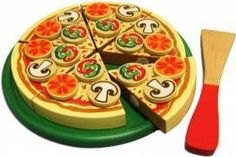 Wooden pizza $24.95