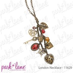 This is a 3 for !! Wear it as a necklace, a layered necklace and as a bracelt and necklace. Let me show you how!! www.myparklane.com/mollyj